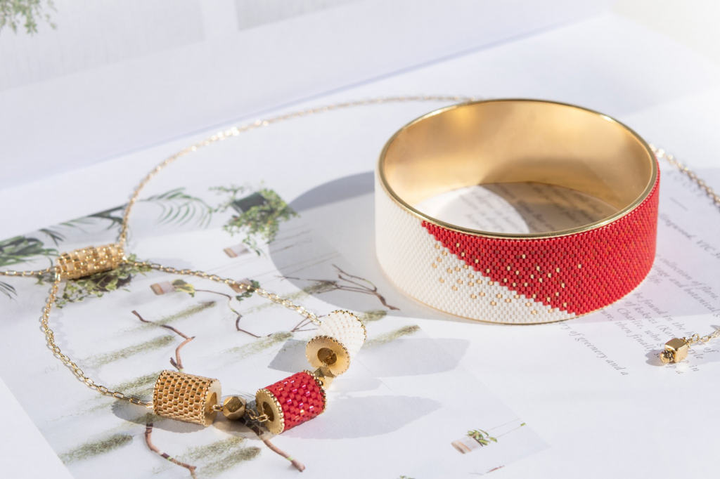 Eden+Elie handmakes intricate beaded jewellery from Singapore