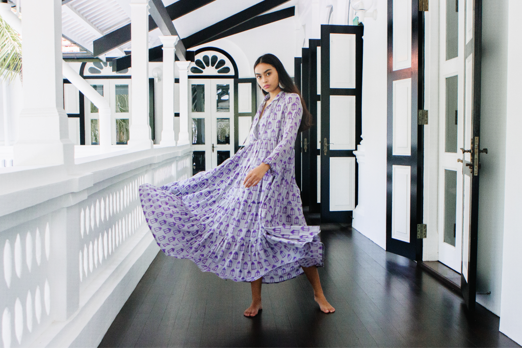 Maisha Concept features bright vivid contemporary flowy prints and cuts