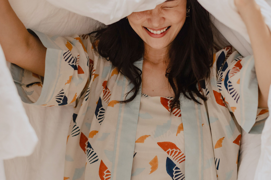 Nost is a ethical loungewear brand designed with artisanal prints